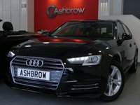 USED 2016 16 AUDI A4 AVANT 1.4 TFSI SPORT 5d 150 S/S SAT NAV, AUDI SMART PHONE WITH APPLE CAR PLAY & ANDROID AUTO, AUDI CONNECT, DAB RADIO, CRUISE CONTROL WITH SPEED LIMITER, LED DAYTIME RUNNING LIGHTS, BLUETOOTH PHONE & MUSIC STREAMING, REAR PARKING SENSORS, ELECTRIC TAILGATE, SILVER ROOF RAILS, GREY CLOTH INTERIOR, SPORT SEATS, LEATHER MULTIFUNCTION STEERING WHEEL, LIGHT & RAIN SENSORS, AUDI DRIVE SELECT, FRONT & REAR ARM RESTS, KEYLESS START, WIFI, AUX INPUT, 2x USB PORTS, CD WITH SD CARD READERS & SIM CARD READER, TPMS, 1 OWNER, AUDI HISTORY