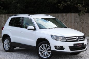 2012 VOLKSWAGEN TIGUAN 2.0 SPORT TDI BLUEMOTION TECHNOLOGY 4MOTION 5d 138 BHP £8995.00