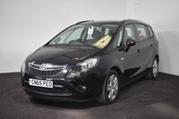 USED 2015 65 VAUXHALL ZAFIRA TOURER 1.4 EXCLUSIV 5d AUTO 138 BHP LOW MILES + FULL AUTOMATIC