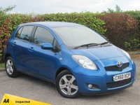 USED 2010 60 TOYOTA YARIS 1.4 TR D-4D 5d £20 A YEAR ROAD TAX, 12 MONTHS FREE AA MEMBERSHIP, 128 POINT AA INSPECTION