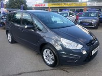USED 2013 13 FORD S-MAX 1.6 ZETEC TDCI S/S 5d 115 BHP IN METALLIC GREY WITH FULL SERVICE HISTORY, 7 SEATS AND 1 OWNER. APPROVED CARS ARE PLEASED TO OFFER THIS 2013 FORD S-MAX 1.6 ZETEC TDCI S/S 115 BHP IN METALLIC GREY WITH FULL SERVICE HISTORY WITH 4 SERVICE STAMPS AND ONLY 1 OWNER. THE SPACIOUS 7 SEATER COMES WITH A GREAT SPEC INCLUDING REAR PARKING SENSORS, CLIMATE CONTROL, CD PLAYER, DAB RADIO AND MUCH MORE. FOR MORE INFORMATION ON THIS VEHICLE OR TO BOOK A TEST DRIVE PLEASE CALL THE SALES TEAM ON 01622 871555.