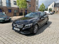 USED 2017 66 MERCEDES-BENZ C-CLASS 2.0L C200 SPORT 4d AUTO 184 BHP Leathers, Camera, ULEZ Free, Warranty, Finance, NEW MOT