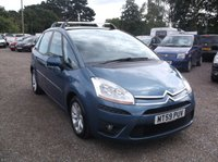 USED 2009 59 CITROEN C4 PICASSO 1.6 VTR PLUS HDI 5d 107 BHP Great Value Picasso, Long MOT (June 2020), Part Service History + Paperwork!