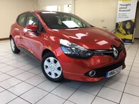 2013 RENAULT CLIO 0.9 EXPRESSION PLUS ENERGY TCE ECO2 S/S 5d 90 BHP £5495.00