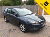USED 2008 08 FORD FOCUS 1.6 ZETEC 5d AUTO 100 BHP