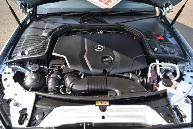 USED 2018 K MERCEDES-BENZ C-CLASS 2.1 C 220 D AMG LINE 2d AUTO 168 BHP ~ *** VAT QUALIFYING £21249.17 + VAT *** *** VAT QUALIFYING £21249.17 + VAT *** ~ GENUINE 1352 MILES FROM NEW