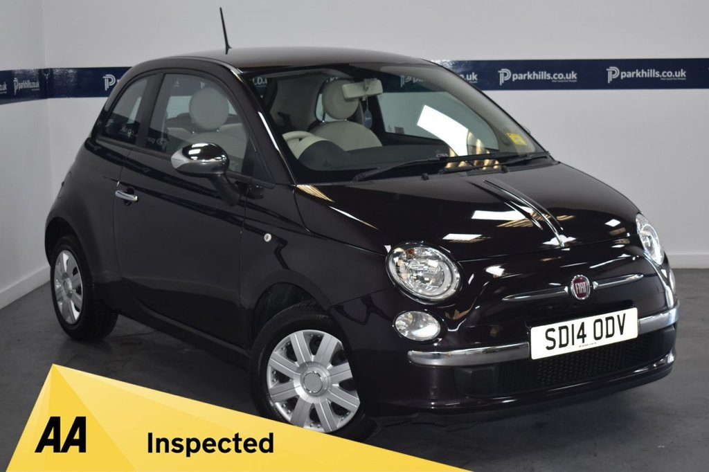 USED 2014 14 FIAT 500 1.2 POP 3d 70 BHP (ONLY 27000 MILES FROM NEW)