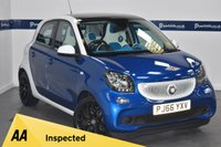USED 2016 66 SMART FORFOUR 0.9 PROXY PREMIUM T 5d 90 BHP (ONE OWNER - SAT NAV)