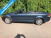 USED 2007 07 VOLVO C70 2.4 PETROL SE AUTOMATIC - FULL SERVICE HISTORY - ULEZ COMPLIANT - ELECTRIC MEMORY DRIVERS SEATS, HEATED SEATS, AIR CONDITIONING, 17