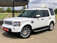 2011 LAND ROVER DISCOVERY 4 3.0 TDV6 HSE AUTO 245 BHP 7 SEATER 5DR ESTATE £13749.00