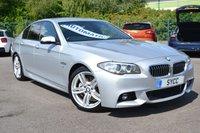 "2015 BMW 5 SERIES 2.0 520D M SPORT 4d AUTO 188 BHP ~ 19"" ALLOYS ~ HARMON KARDON £13999.00"