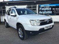 USED 2013 13 DACIA DUSTER 1.5 LAUREATE DCI 4WD 5d 1 OWNER - FSH- B/TOOTH FSH 6 Stamps, 1 Owner from New, Bluetooth, USB