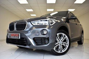 2015 BMW X1  SDRIVE18D 2.0 SPORT AUTOMATIC £16995.00