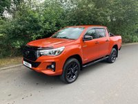 USED 2018 68 TOYOTA HI-LUX 2.4 INVINCIBLE X LIMITED EDITION 4WD D-4D DCB 4d AUTO 147 BHP