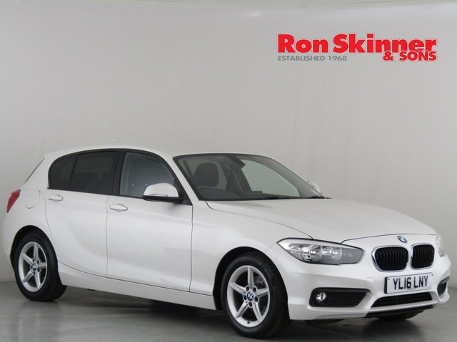 View our 2016 16 BMW 1 SERIES 1.5 116D ED PLUS 5d 114 BHP