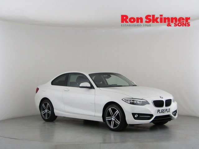View our 2016 65 BMW 2 SERIES 1.5 218I SPORT 2d 134 BHP