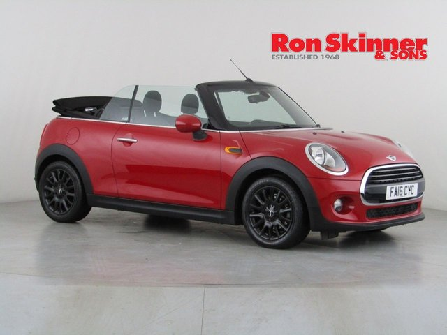 View our 2016 16 MINI CONVERTIBLE 1.5 COOPER D 2d 114 BHP with Pepper Pack