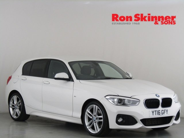 View our 2016 16 BMW 1 SERIES 2.0 120D M SPORT 5d 188 BHP