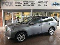 2013 MITSUBISHI OUTLANDER 2.3 DI-D GX 4 5d AUTO 147 BHP £9975.00