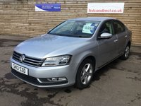 2013 VOLKSWAGEN PASSAT 1.6 S TDI BLUEMOTION TECHNOLOGY 4d LOW MILEAGE  £6999.00