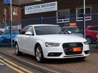 2012 AUDI A4 1.8 TFSI SE S/S 4d £SOLD