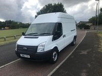 2013 FORD TRANSIT 2.2 T350 LWB HIGH ROOF  125 BHP £6995.00
