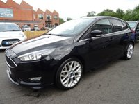 USED 2015 15 FORD FOCUS 1.5 ZETEC S TDCI 5d 118 BHP STUNNING CONDITION WITH FULL SERVICE HISTORY