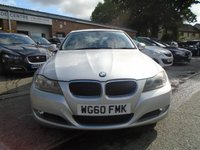 USED 2010 60 BMW 3 SERIES 2.0 320D EFFICIENTDYNAMICS 4d 161 BHP 2 FORMER KEEPER+GREAT VALUE