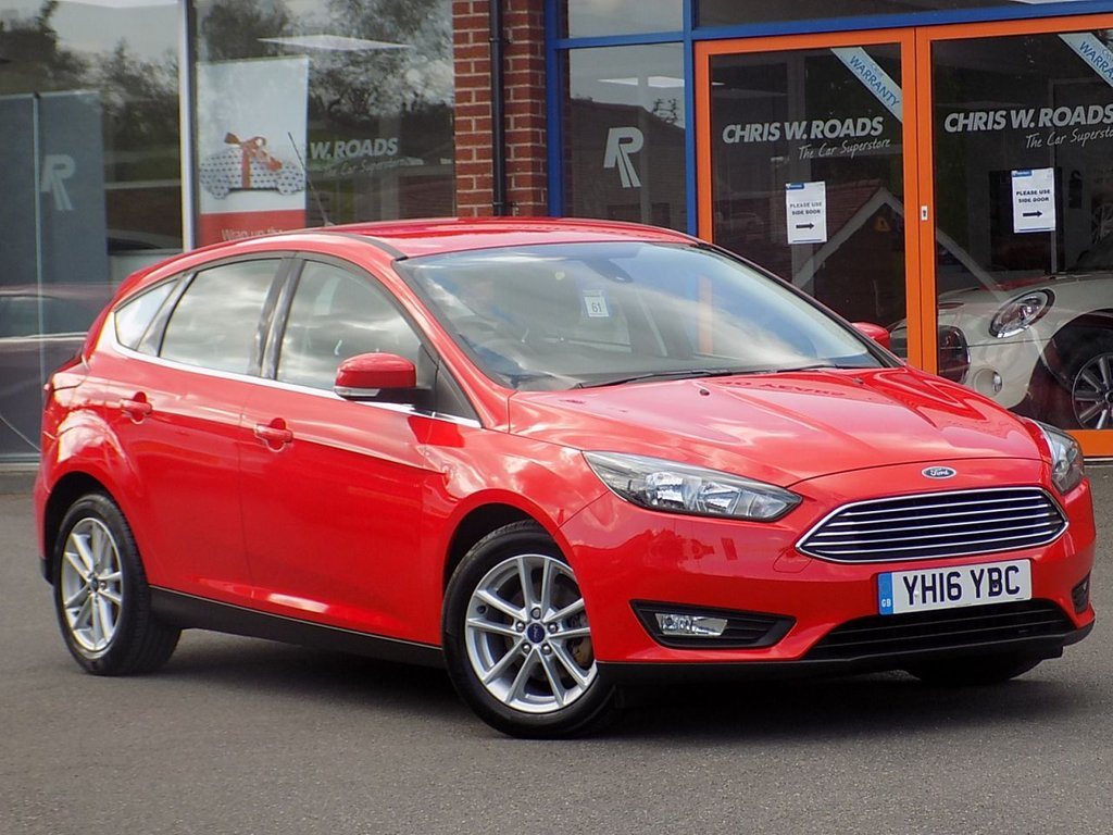 USED 2016 16 FORD FOCUS 1.5 TDCi Zetec Navigation 5dr **Sync Bluetooth + Nav + DAB**