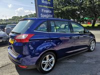 USED 2016 66 FORD GRAND C-MAX 1.5 TITANIUM X TDCI 5d AUTO 118 BHP, only 20000 miles ***APPROVED DEALER FOR CAR FINANCE247 AND ZUT0  ***