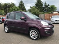 USED 2013 63 FIAT PANDA 0.9 TWINAIR LOUNGE 5d LOW MILEAGE EXAMPLE WITH SERVICE HISTORY NO DEPOSIT ECP/HP FINANCE ARRANGED, APPLY HERE NOW