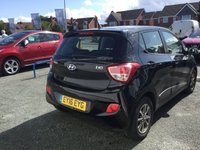 USED 2016 16 HYUNDAI I10 1.0 PREMIUM BLUE DRIVE 5d Petrol Hatchback with Air Conditioning Power Steering Bluetooth Mobile Handsfree Full Service History and 5 Years Hyundai Warranty until March 2021 THE PERFECT FIRST CAR + LOW MILEAGE