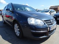 USED 2009 09 VOLKSWAGEN GOLF 1.9 SE TDI GREAT ESTATE DRIVES A1