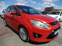 USED 2011 61 FORD C-MAX 1.6 TITANIUM TDCI GREAT SPEC
