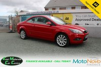 USED 2009 59 FORD FOCUS 2.0 CC3 2d 135 BHP PETROL RED