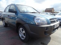USED 2007 56 HYUNDAI TUCSON 2.0 GSI CRTD 2WD AUTOMATIC LOW MILES