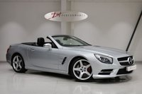 USED 2014 63 MERCEDES-BENZ SL 3.5 SL350 AMG SPORT 2d AUTO 306 BHP AIR SCARF/PANORAMIC ROOF