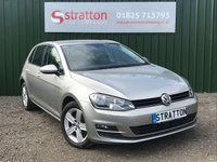 USED 2016 66 VOLKSWAGEN GOLF 1.6 MATCH EDITION TDI BMT DSG 5d AUTO 109 BHP
