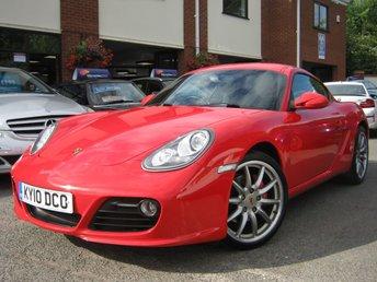 2010 PORSCHE CAYMAN 3.4 24V S 2d 320 BHP £18495.00