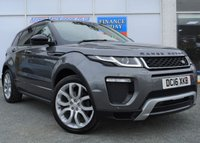 USED 2016 16 LAND ROVER RANGE ROVER EVOQUE 2.0 TD4 HSE DYNAMIC 5d 4x4 Family SUV AUTO with Massive High Spec inc Panoramic Glass Roof Sat Nav Heated Leather Seats Reversing Camera Ft and Rr Parking Sensors DAB Digital Radio Electric Memory Seat Electric Opening Power Tailgate STUNNING IN CORRIS GREY
