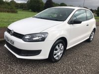 2014 VOLKSWAGEN POLO 1.2 S 3dr £3895.00