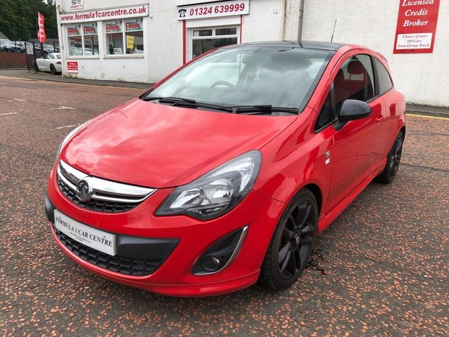 USED 2014 14 VAUXHALL CORSA 1.2 i 16v Limited Edition 3dr (a/c) 2 OWNERS+LOW MILEAGE+VALUE CAR