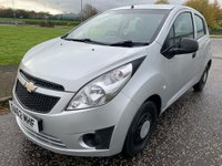 USED 2012 62 CHEVROLET SPARK 1.0 + 5dr £30 Tax ! Low Miles ! 2 Keys !