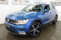 USED 2016 66 VOLKSWAGEN TIGUAN 1.4 TSI BlueMotion Tech SE Navigation (s/s) 5dr 1 PRIVATE OWNER! NAV! CRUISE!