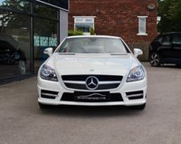 USED 2012 62 MERCEDES-BENZ SLK 1.8 SLK200 BLUEEFFICIENCY AMG SPORT 2d AUTO 184 BHP Fantastic Specification Calcite While SLK200, Heated Seats, Satellite Navigation, Front and Rear Parking Sensors, Tyre pressure Warning System, Sports Suspension, 6 Disc CD, DAB Radio, AMG Styling, 1 Previous Owner, Service History - Just Serviced, Collapsible Spare Wheel, 2 Keys and Book Pack.