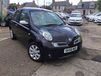 USED 2008 58 NISSAN MICRA 1.2 25 3d AUTO 80 BHP 1 LADY OWNER LOW MILEAGE AUTOMATIC  WITH full service history