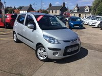 USED 2010 59 HYUNDAI I10 1.2 COMFORT 5d AUTO 77 BHP LOW MILEAGE AUTOMATIC WITH FULL SERVICE HISTORY