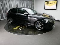 USED 2014 BMW 1 SERIES M135i M Performance 3dr Step Auto [Business Media] £0 DEPOSIT FINANCE AVAILABLE, AIR CONDITIONING, AUX INPUT, BLUETOOTH CONNECTIVITY, CLIMATE CONTROL, DAB RADIO, DRIVE PERFORMANCE, GEARSHIFT PADDLES SAT-NAV, START-STOP ENGINE, STEERING WHEEL CONTROLS, TRIP COMPUTER