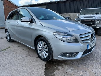 2012 MERCEDES-BENZ B CLASS 1.6 B180 BLUEEFFICIENCY SE 5d AUTO 122 BHP £7750.00