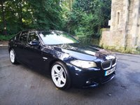 USED 2014 14 BMW 5 SERIES 2.0 520D M SPORT 4d AUTO 181 BHP CALL OUR SUPER FRIENDLY TEAM FOR MORE INFO 02382 025 888